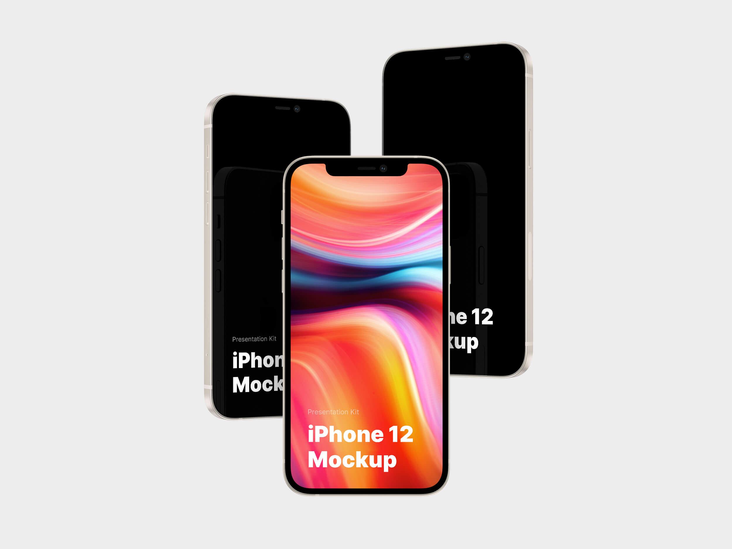 iPhone 12 Mockup