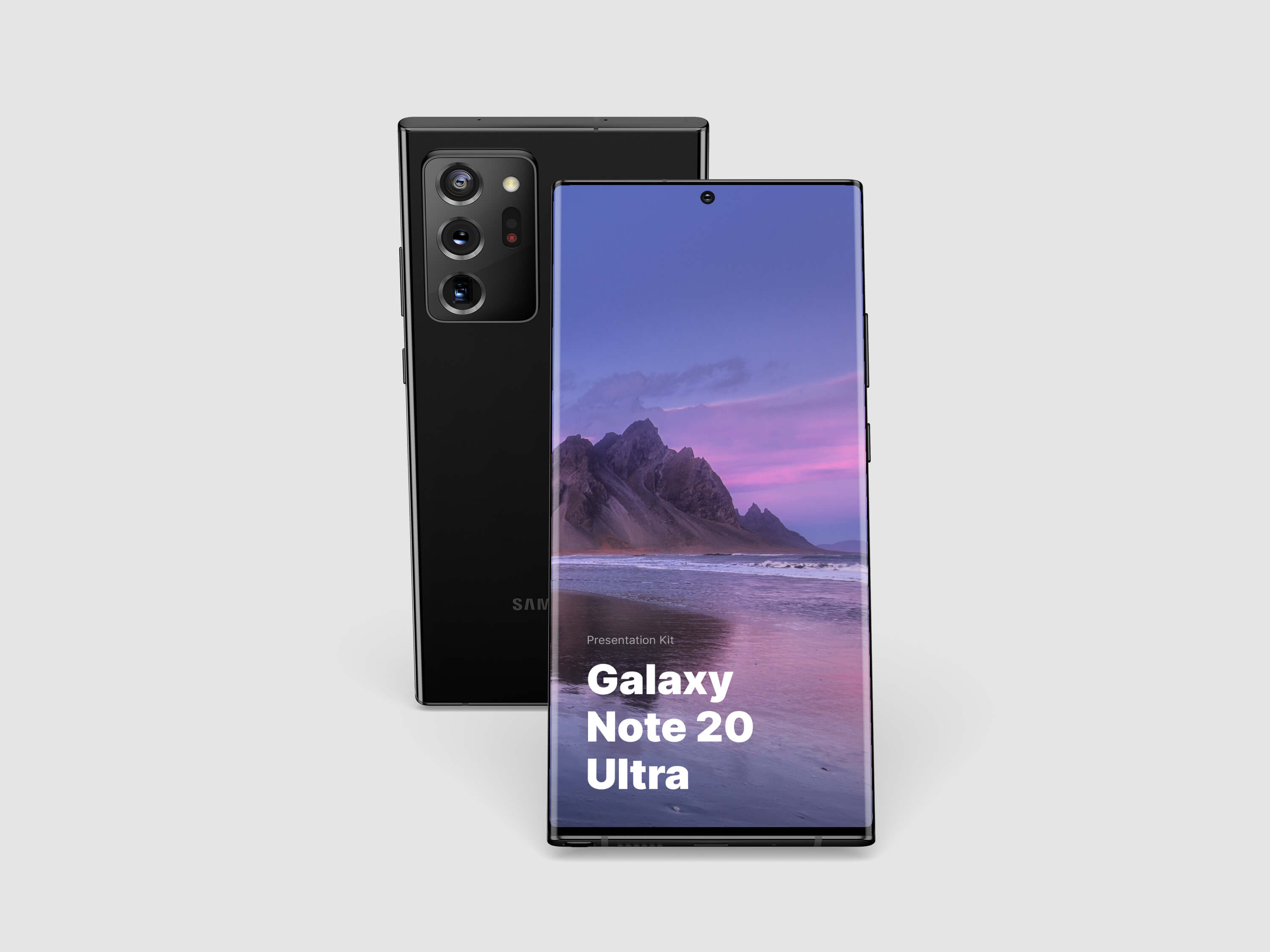 Galaxy Note 20 Ultra Mockups