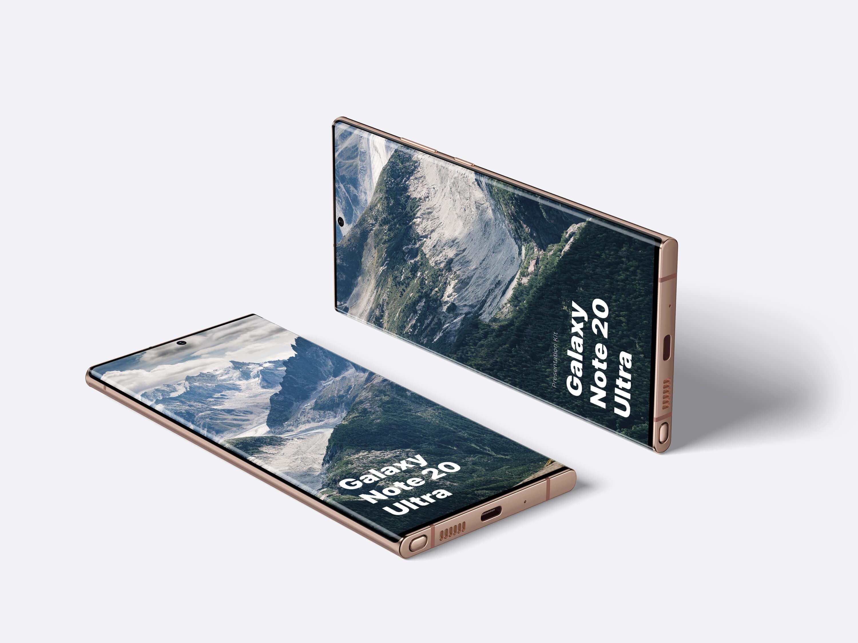 Galaxy S20 Ultra Mockups