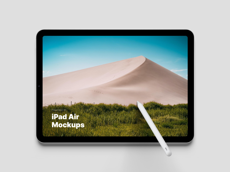 iPad Air Mockups