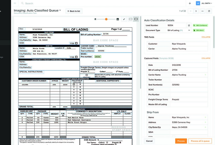 Vector creates automated doc-scanning app for drivers, fleets