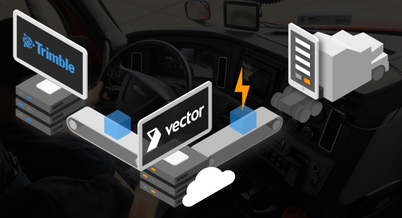 Vector advances TMS integrations with TruckMate and TMW.Suite to enable dispatch capabilities