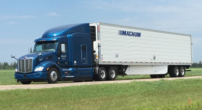Magnum LTL Utilizes Trimble and Vector Solutions to Streamline In-Cab Scanning and Document Management Capabilities