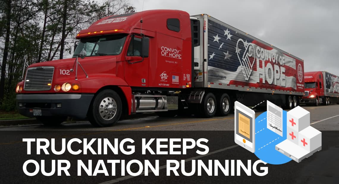 Can digitization in trucking slow down the spread of Coronavirus?