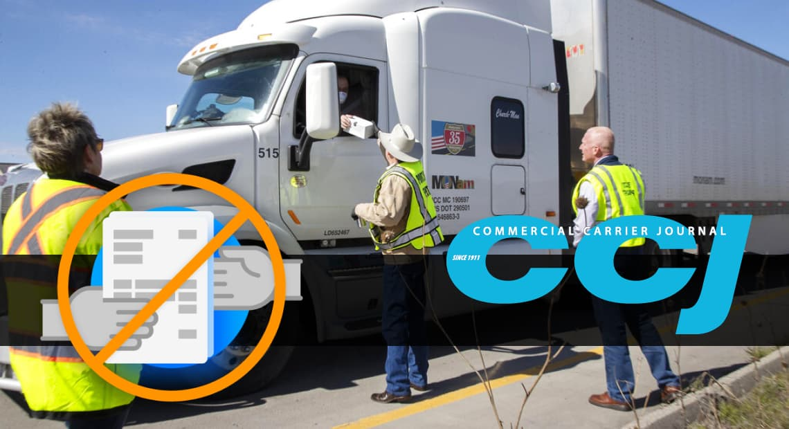 Coronavirus pushes fleets to digitize payments, shipping docs