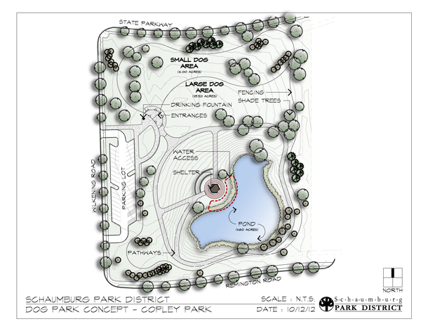 Copley Dog Park Concept