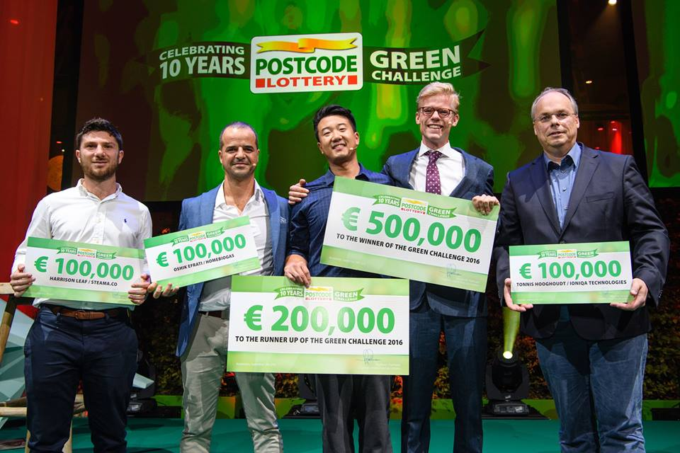 Postcode Lottery finalists of Green Challenge