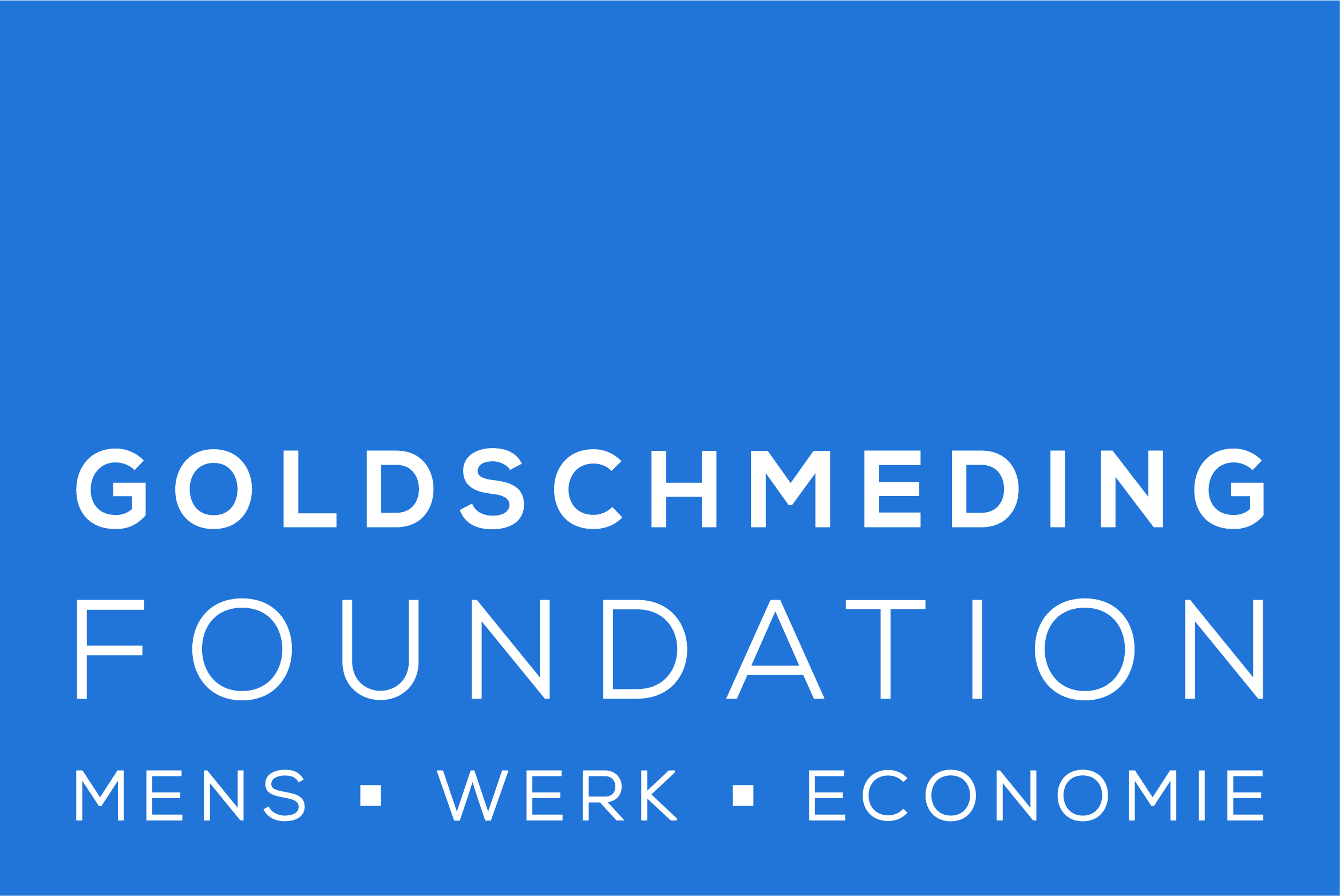 Logo of the Goldschmeding Foundation