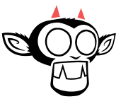 Appeal Studios Logo - Monkey Head with Horns