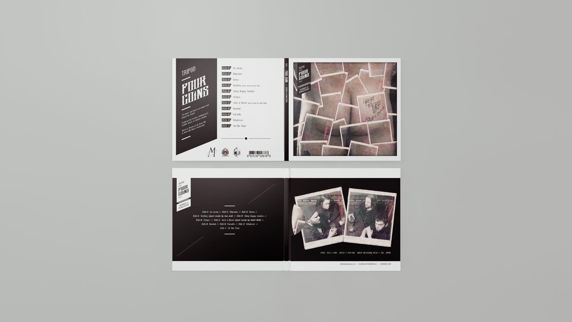 Tripod - Four Coins