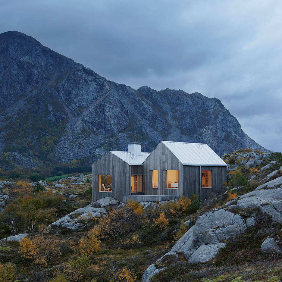 Cabin in norway, made with Kebony