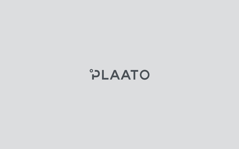 plaato logo dark on grey