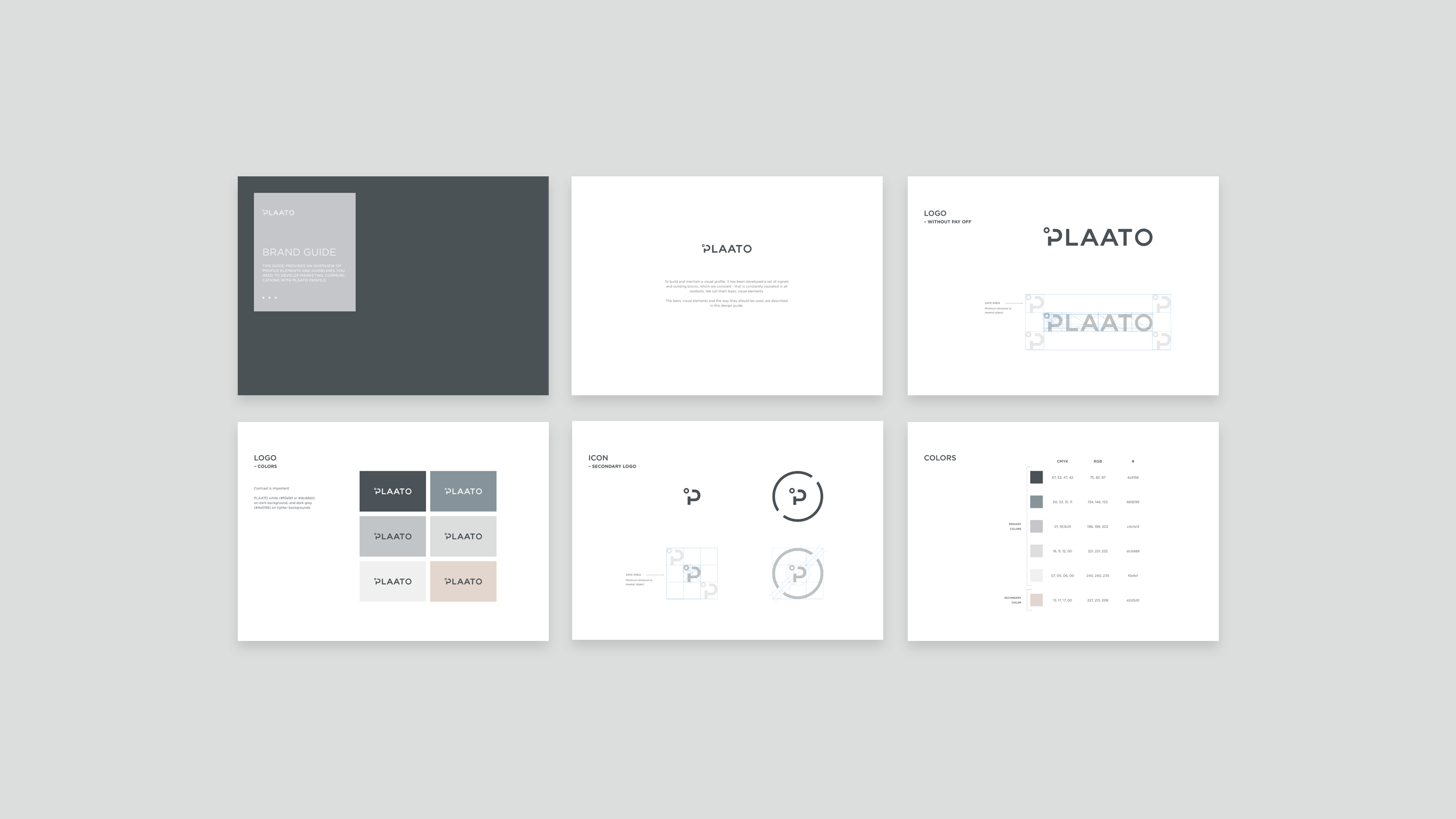 plaato brand guide, designed by SBDS