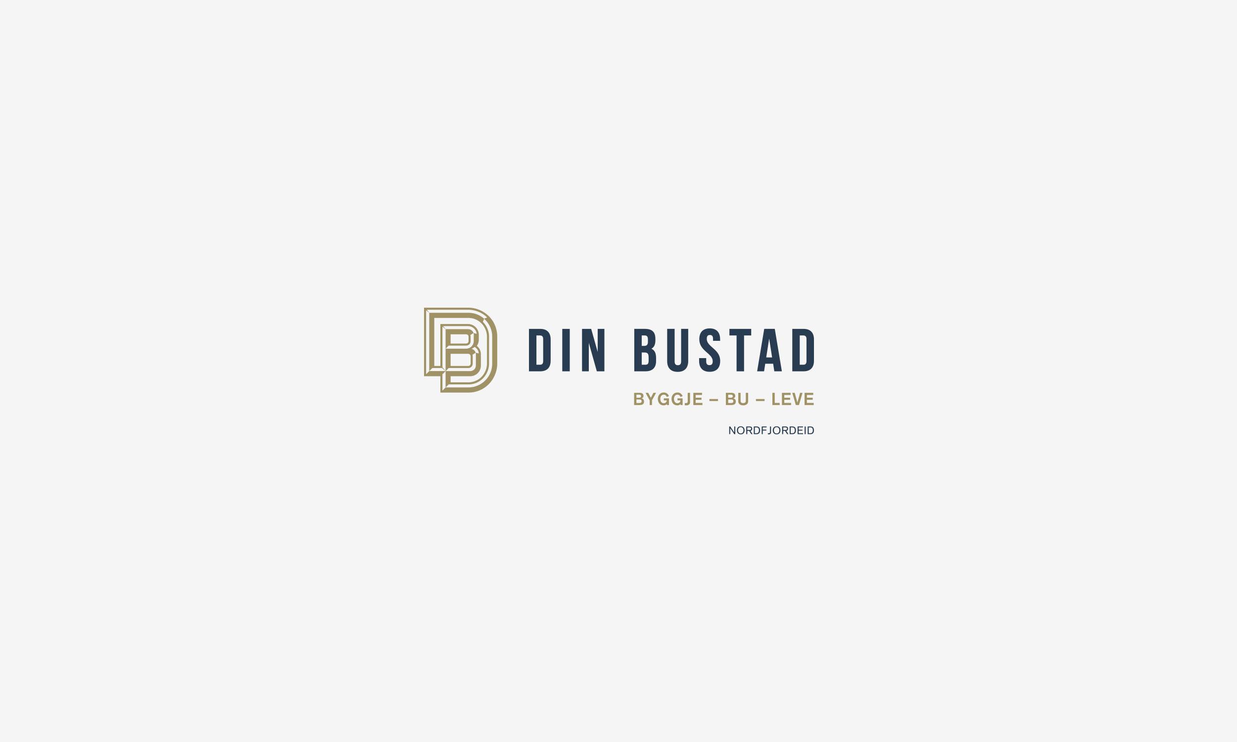 Din Bustad horizontal dark logo