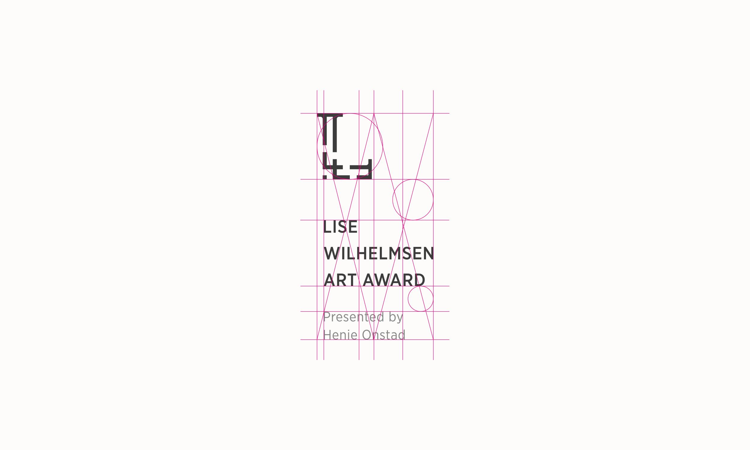 n og Lise Wilhelmsen Art Award vertical Logo