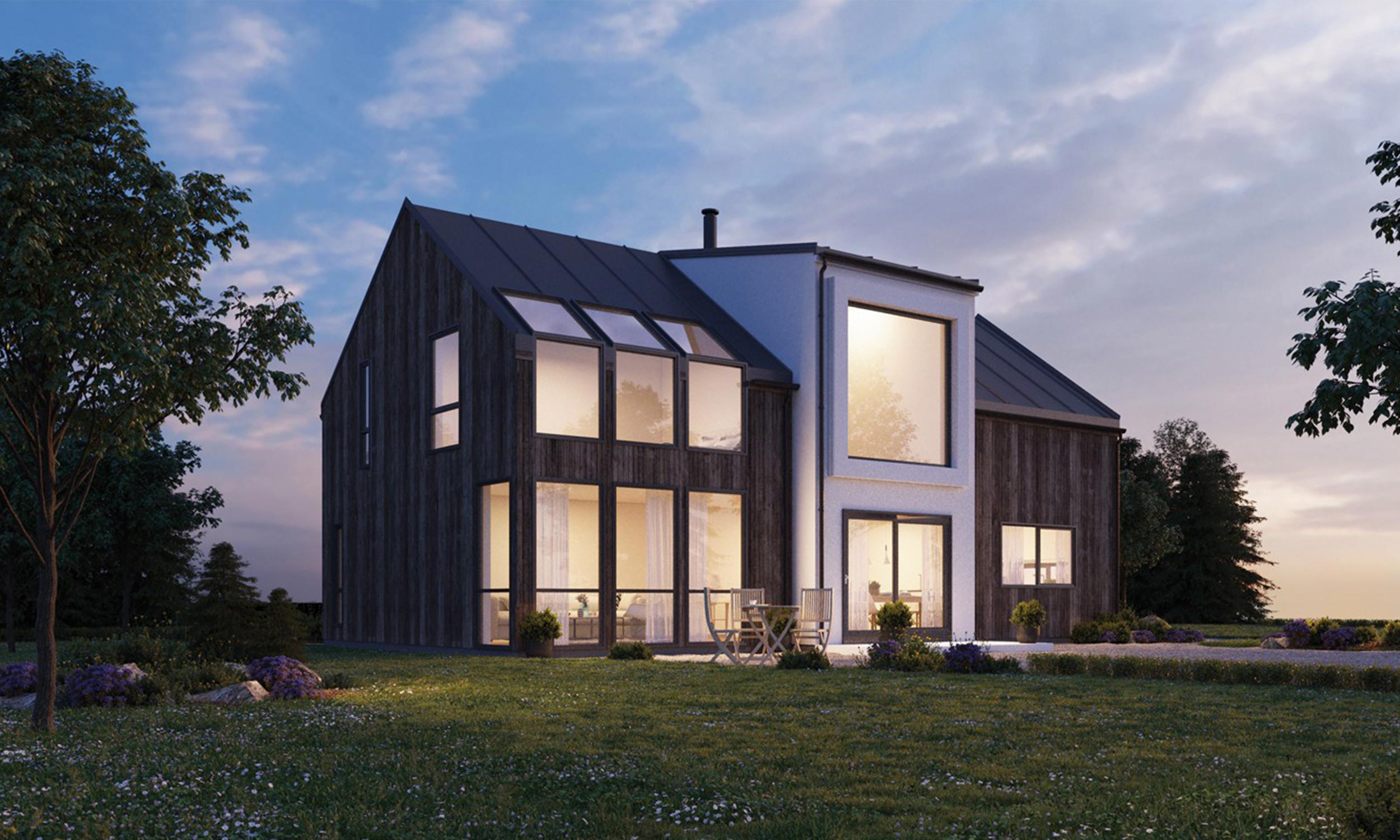 house by Din Bustad