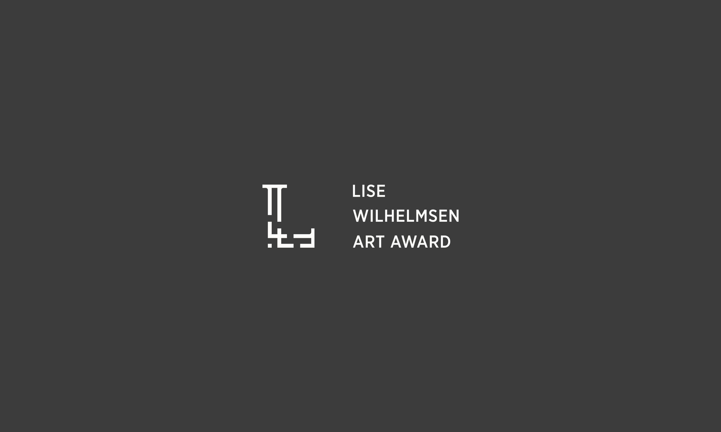 Lise Wilhelmsen Art Award light horizontal Logo, design by SBDS