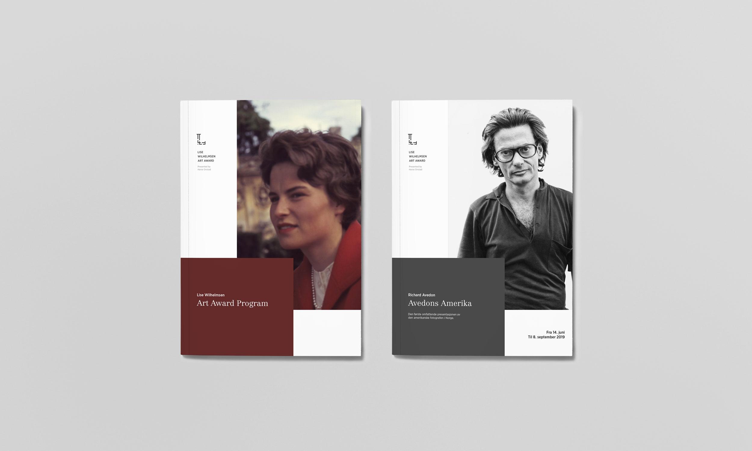 Lise Wilhelmsen Art Award brochure