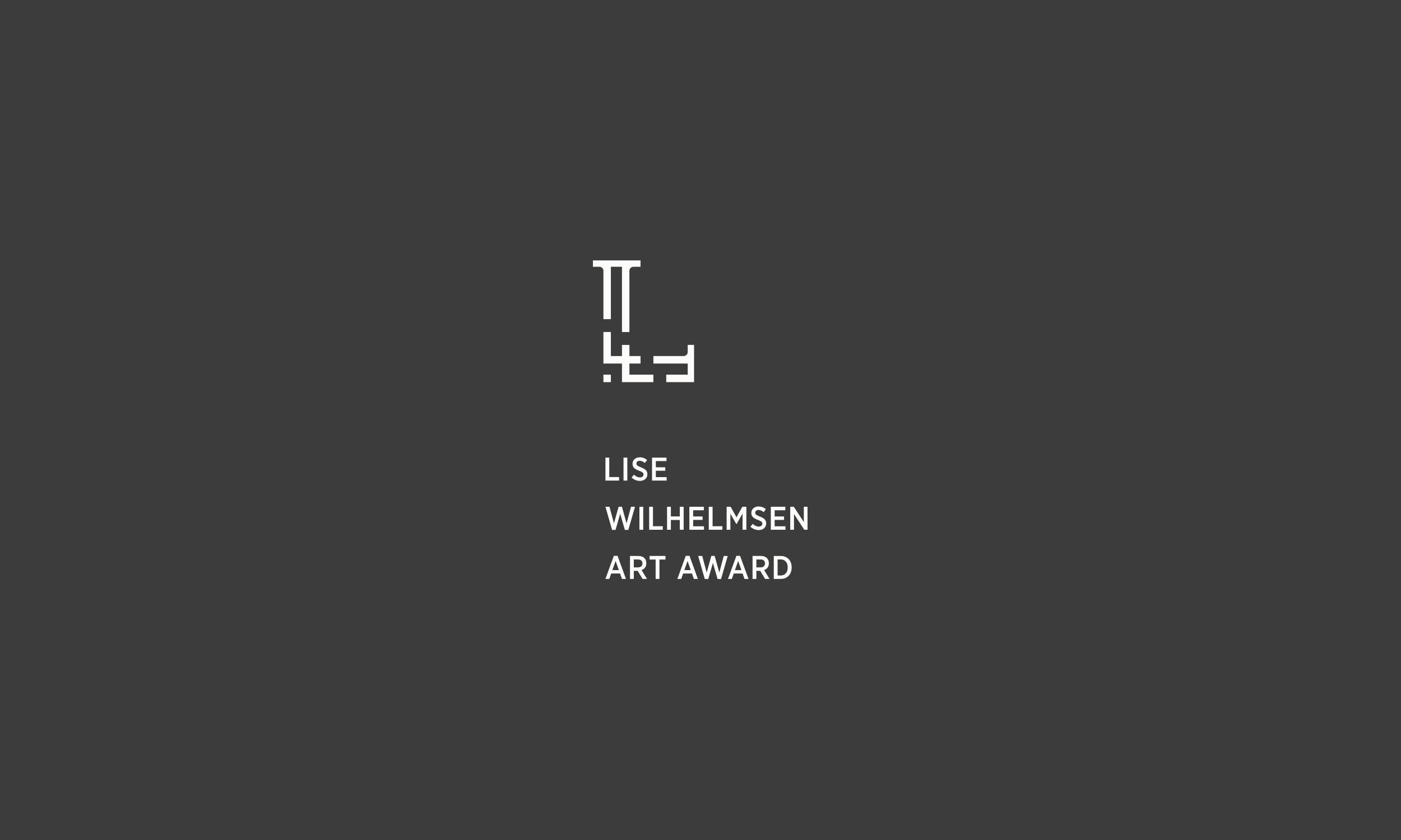 Lise Wilhelmsen Art Award light vertical Logo, designed by SBDS