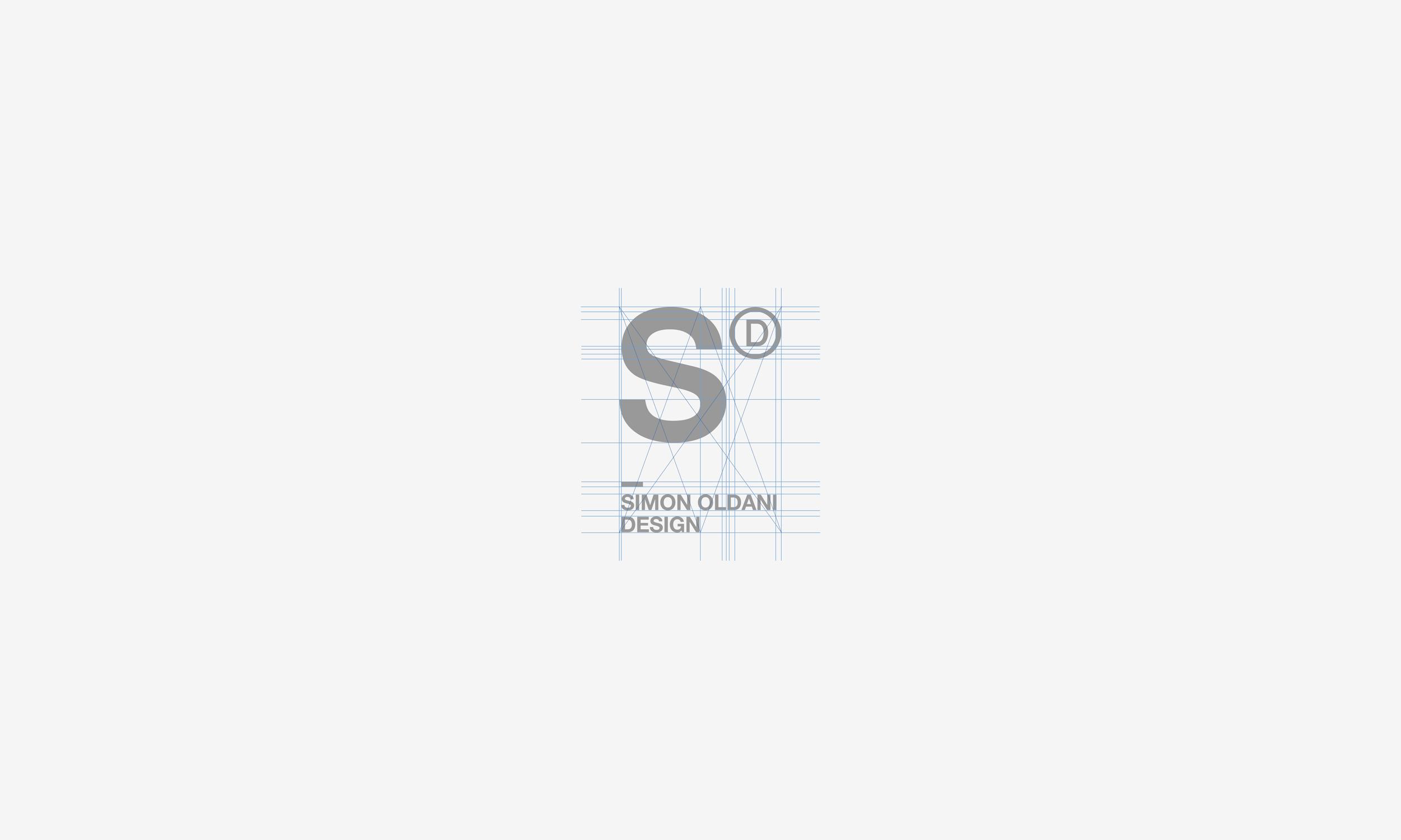 Simon Oldani Design logo vertical construction