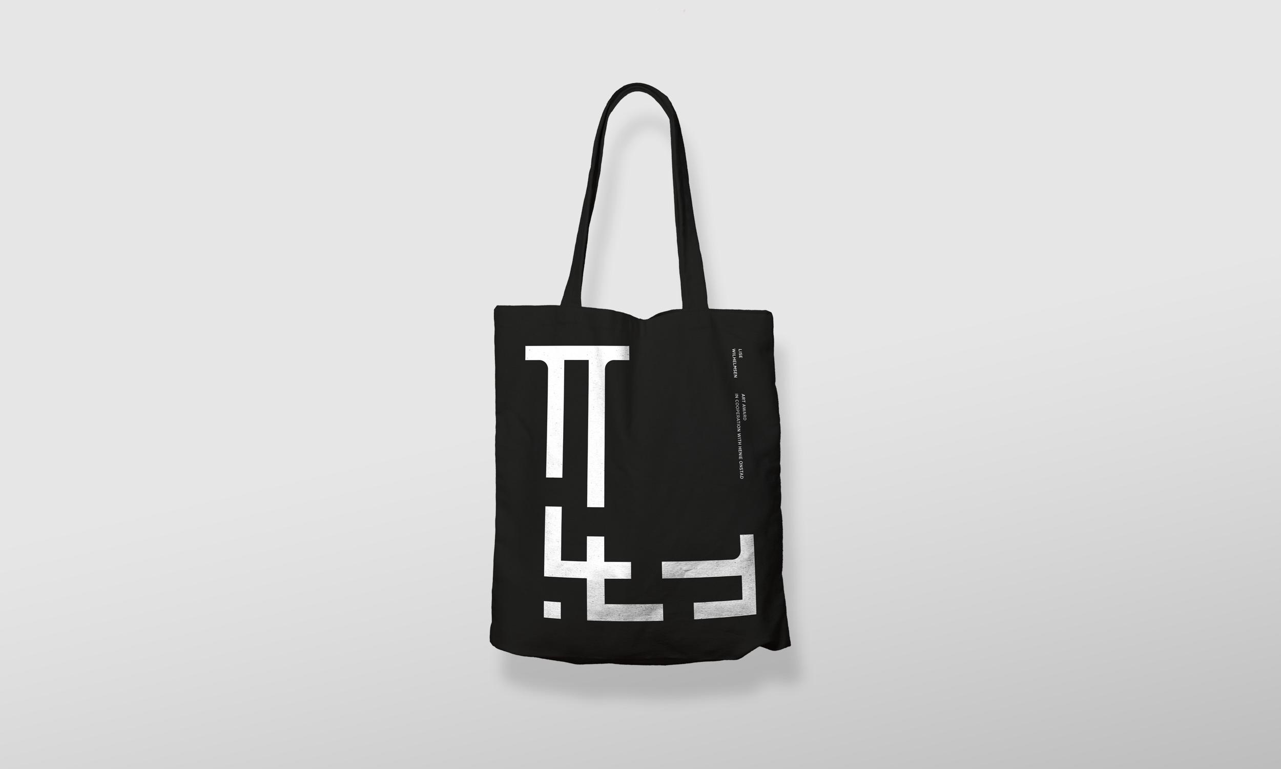 Lise Wilhelmsen Art Award tote bag, designed by SBDS