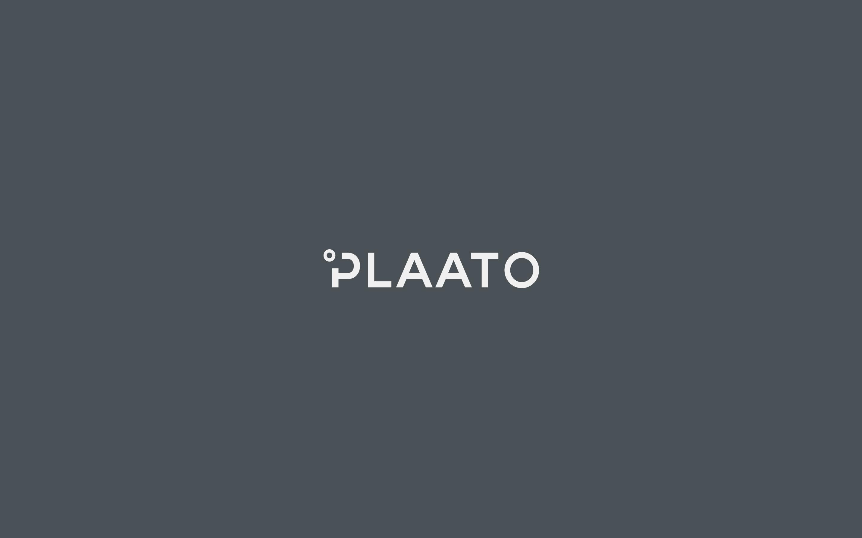 plaato logo light on dark grey