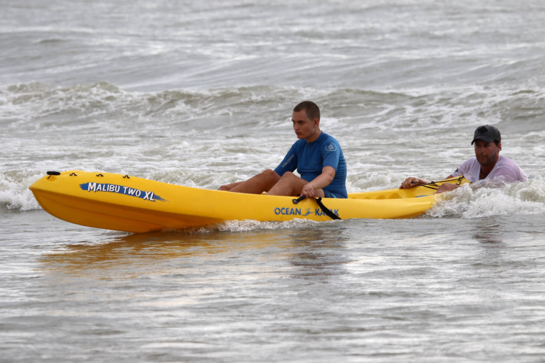 Heal Autism Now Surf Camp Kayak