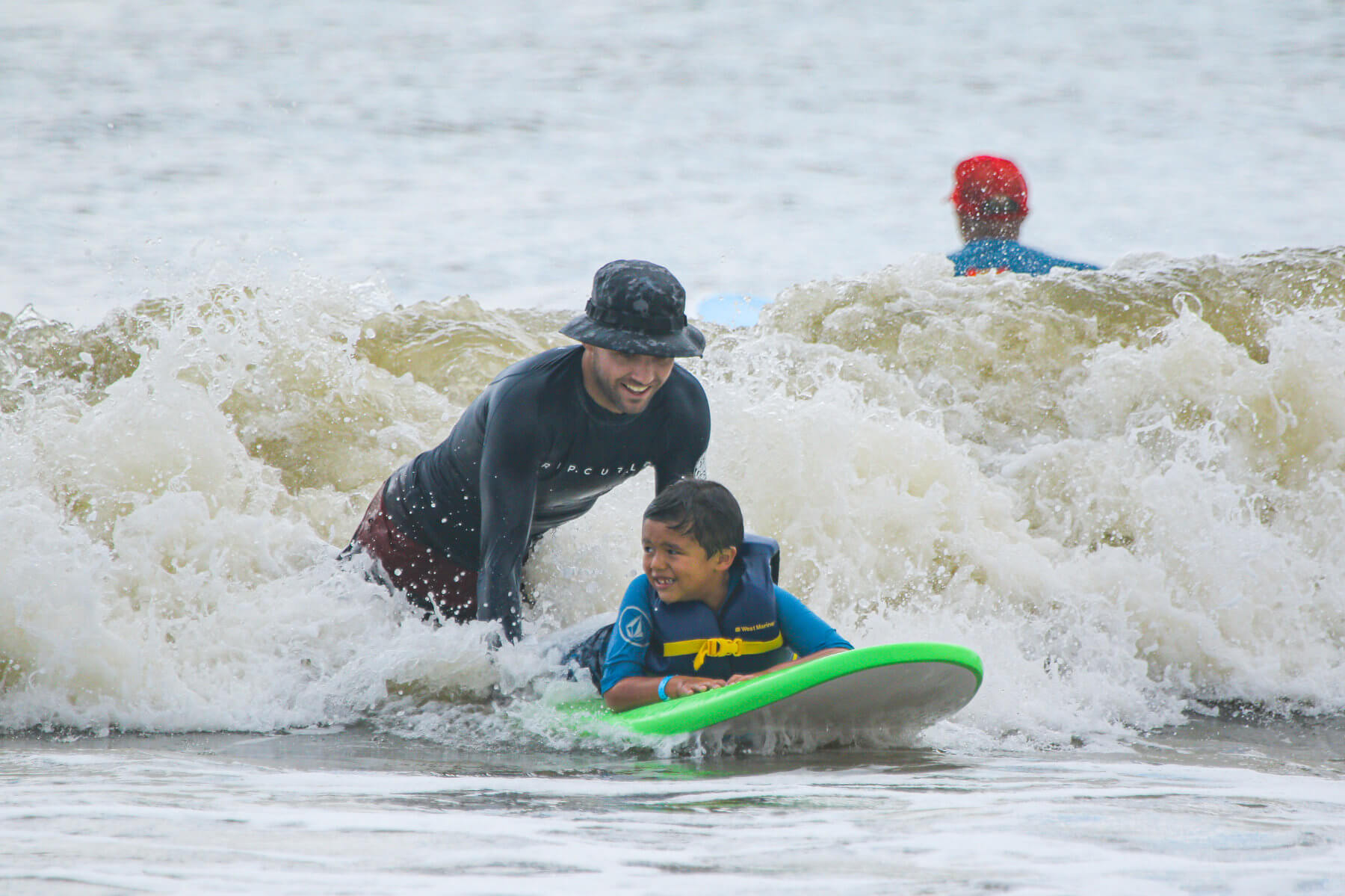 Heal Autism Now 2019 Surf Camp Green Board