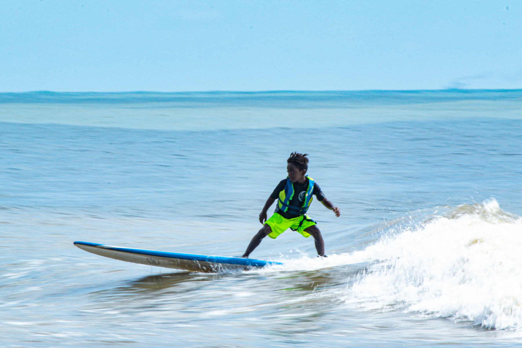 Heal Autism Now 2019 Surf Camp Surfing Blue Water