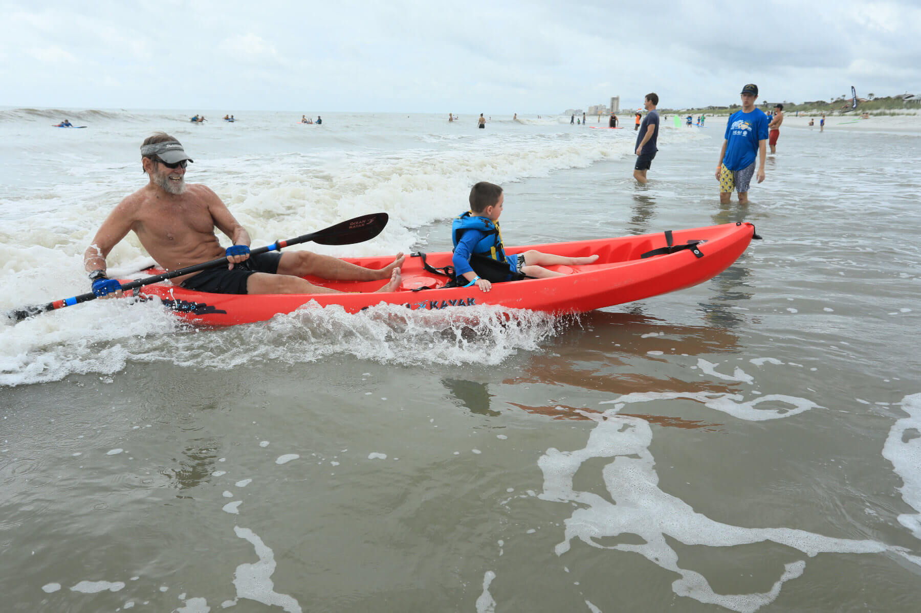 2019 Surf Camp Red Kayak