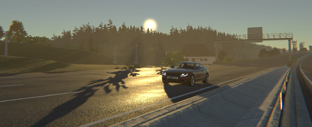 test drive in simulation