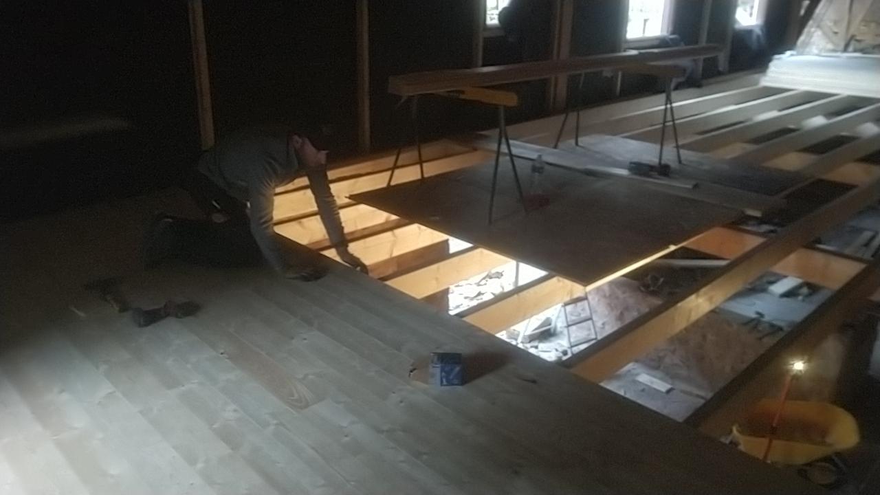 Rénovation complète Moulin d'Aubas - Maconnerie, charpente, couverture, plancher, bardage bois - 5/7