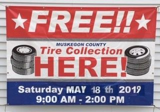 Annual Muskegon County Tire Drive