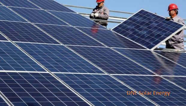 У Вольногорську литовська компанія збудувала унікальну сонячну електростанцію