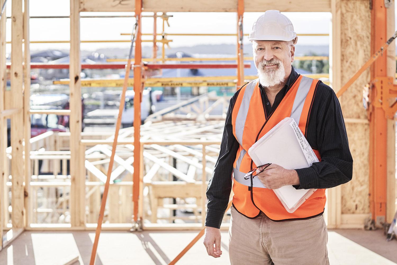 Rob van Huesden Consulting Engineer on Job Site