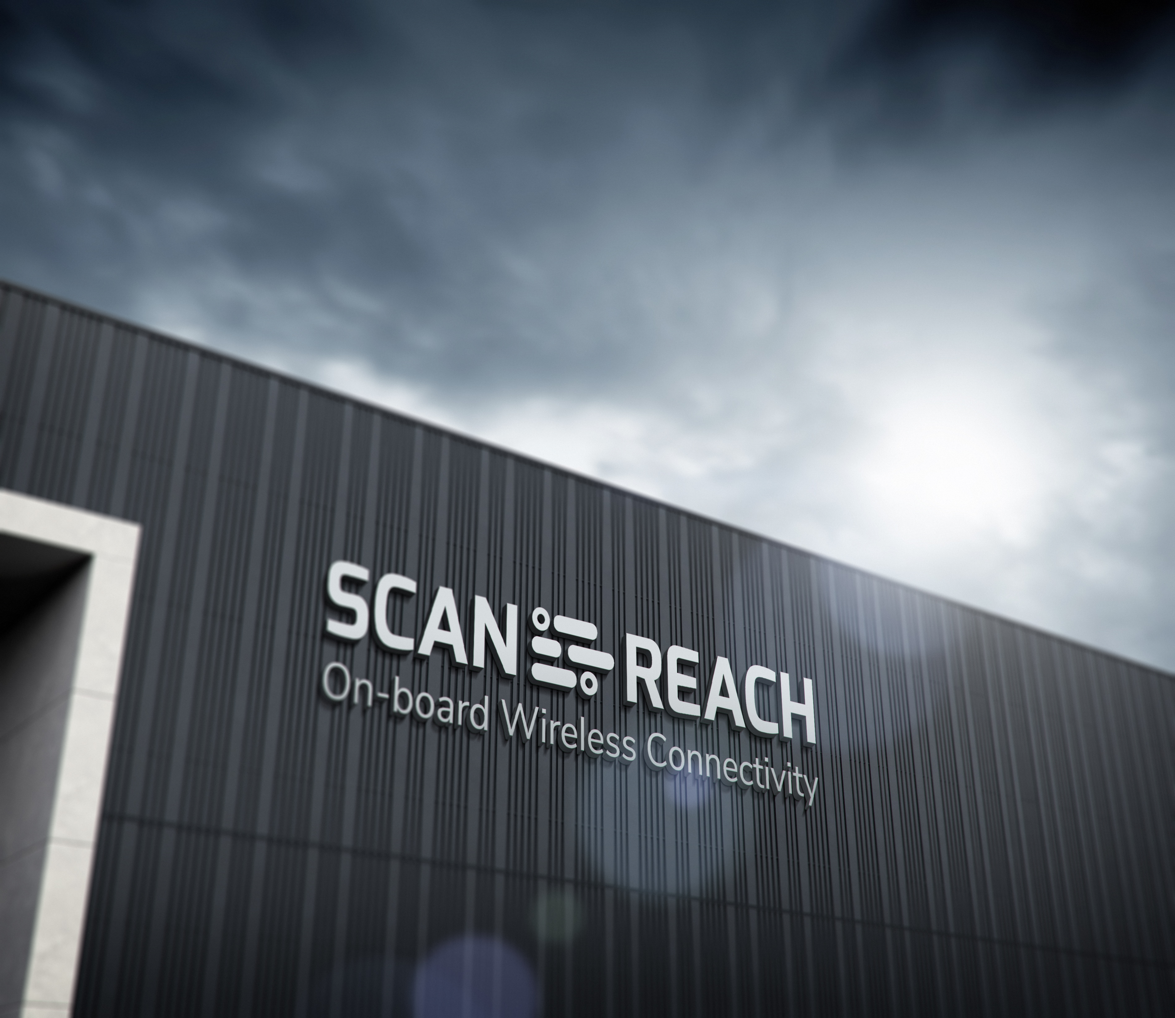 Logo på fasade