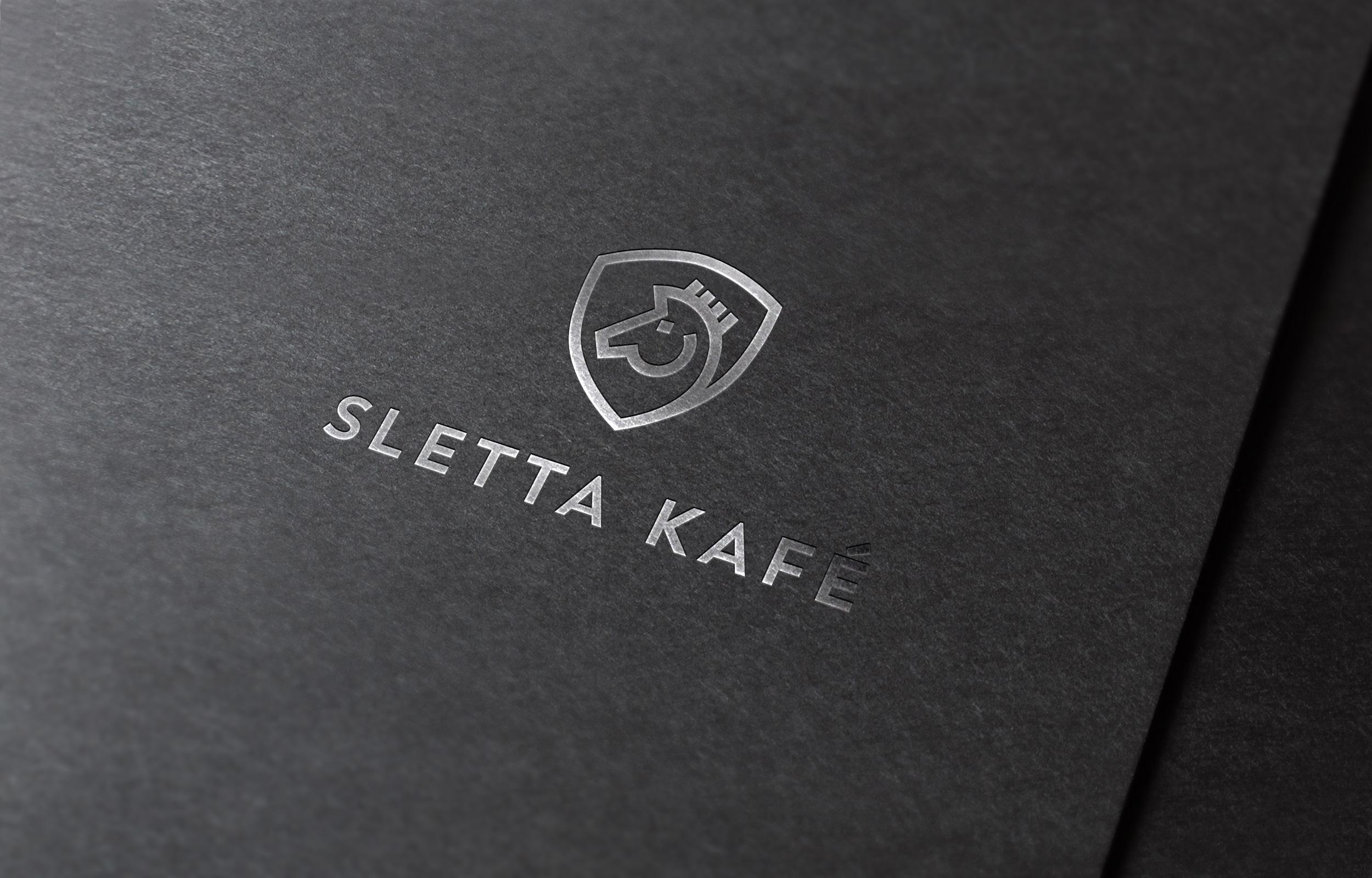 Utforming av logo Sletta Kafé