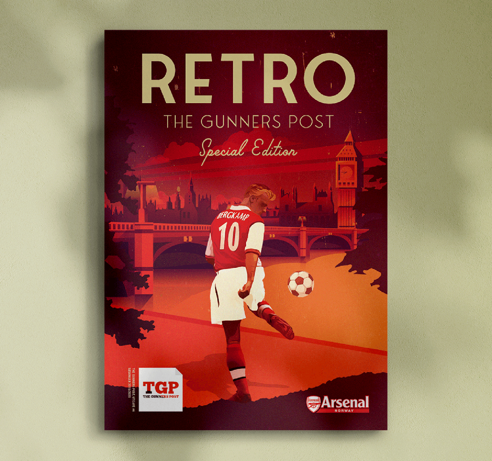 Arsenal retro magasin 2020