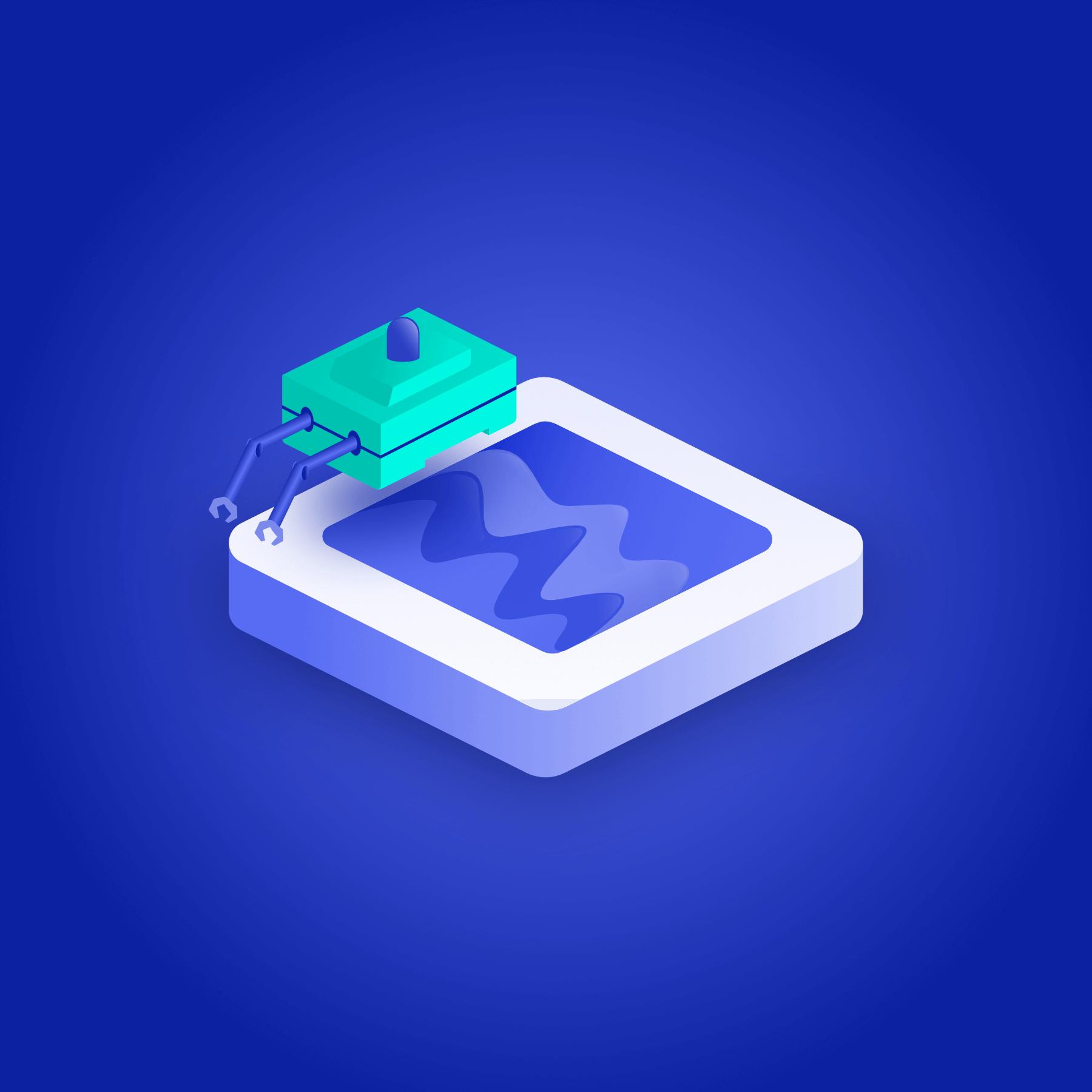 Echova ikon for henting av data
