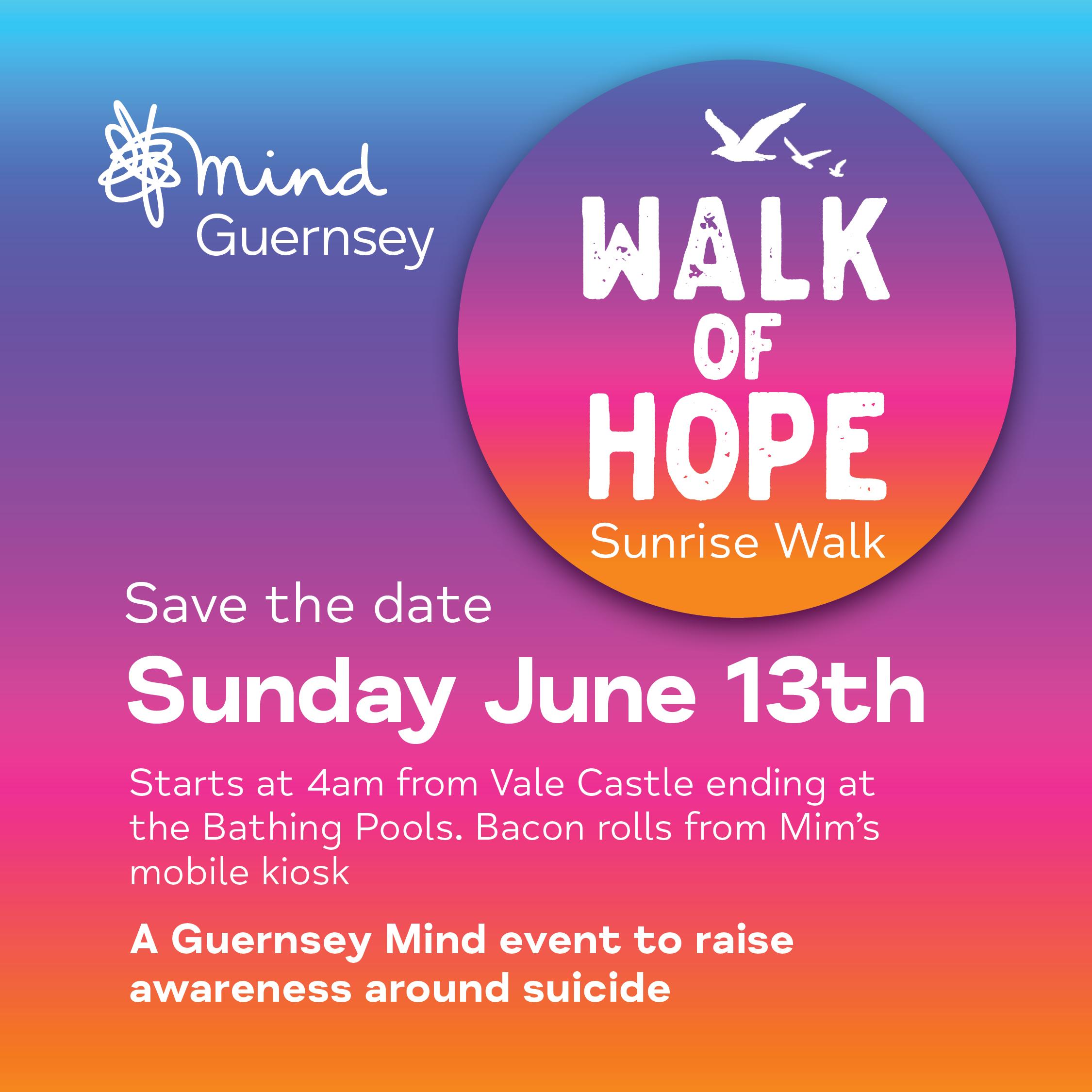 Walk of Hope - thank you!