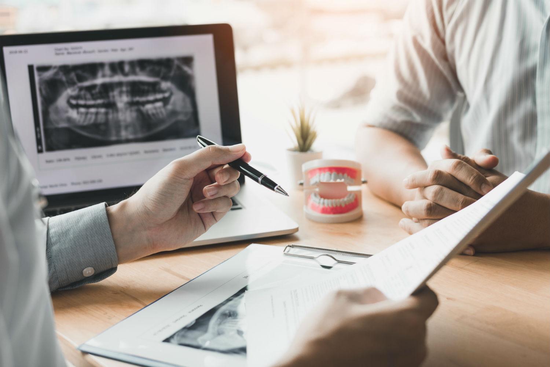 Dentist explains treatment