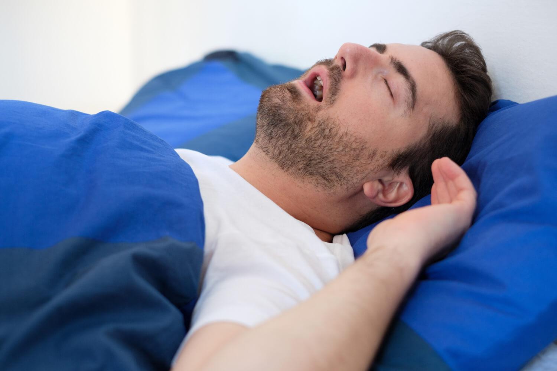 Sleep apnea dental patient