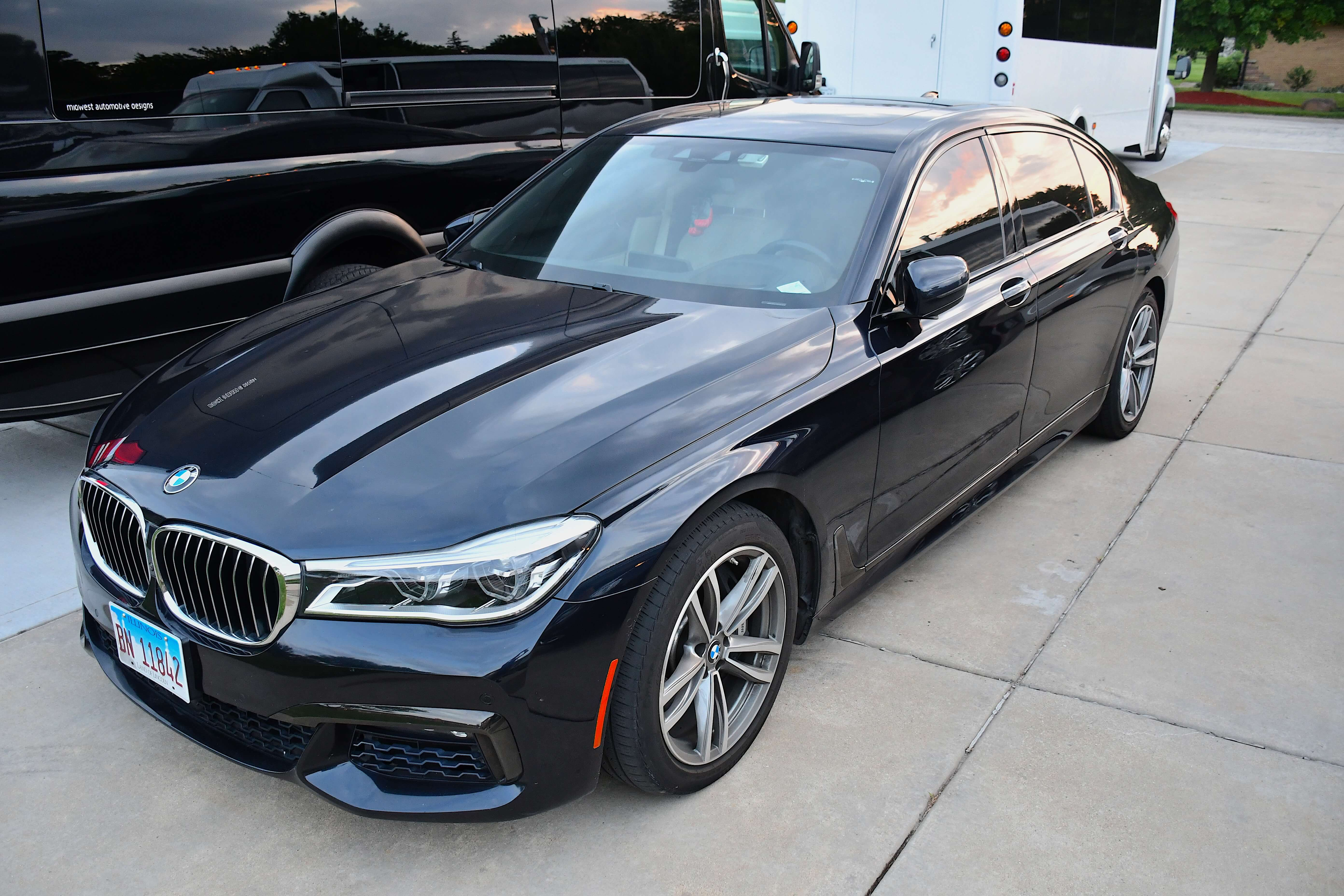 BMW provided by A Stars Limo