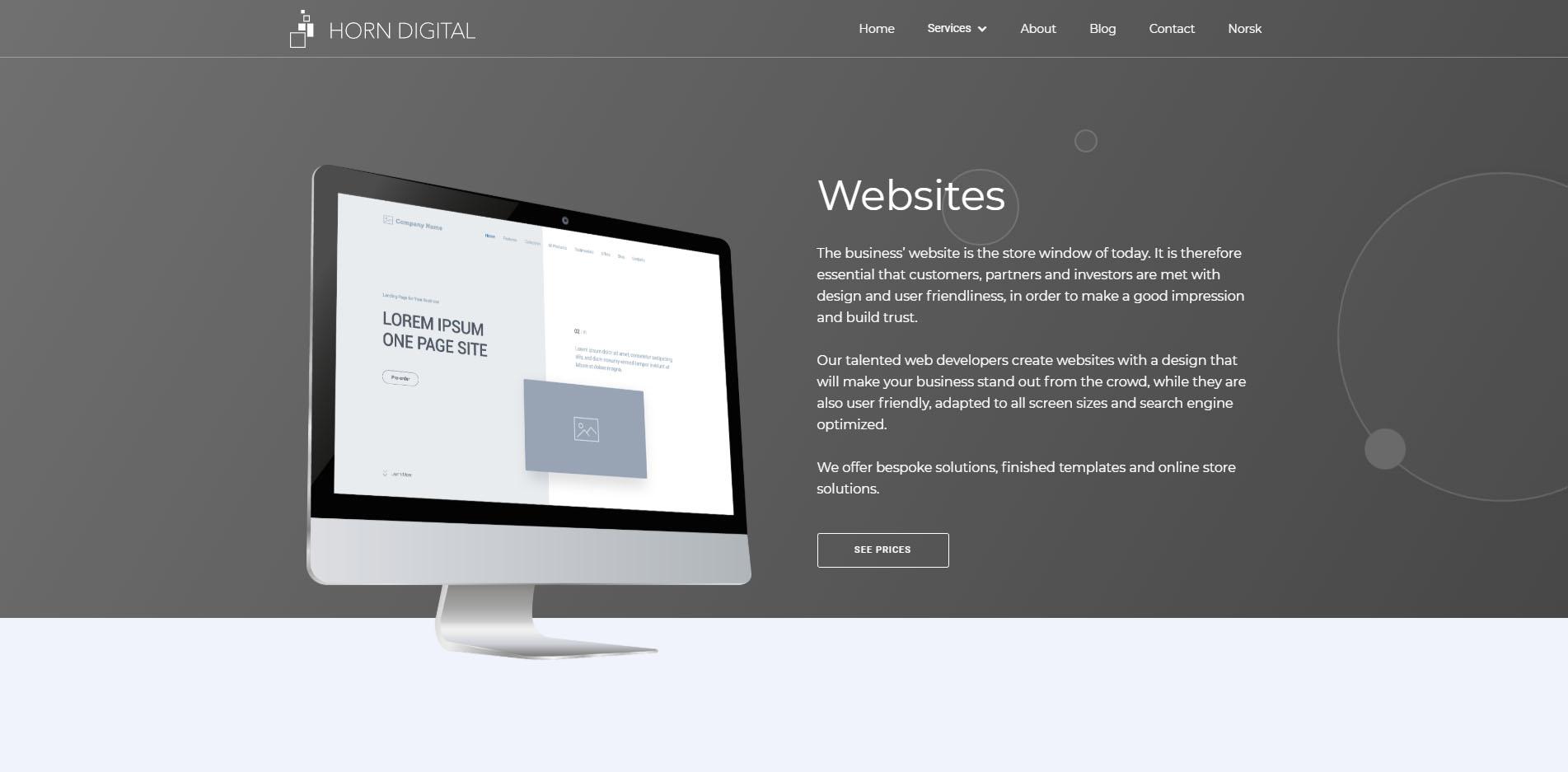 Websites | Horn Digital Media