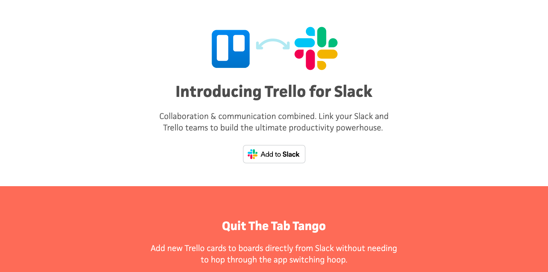 slack trello integration