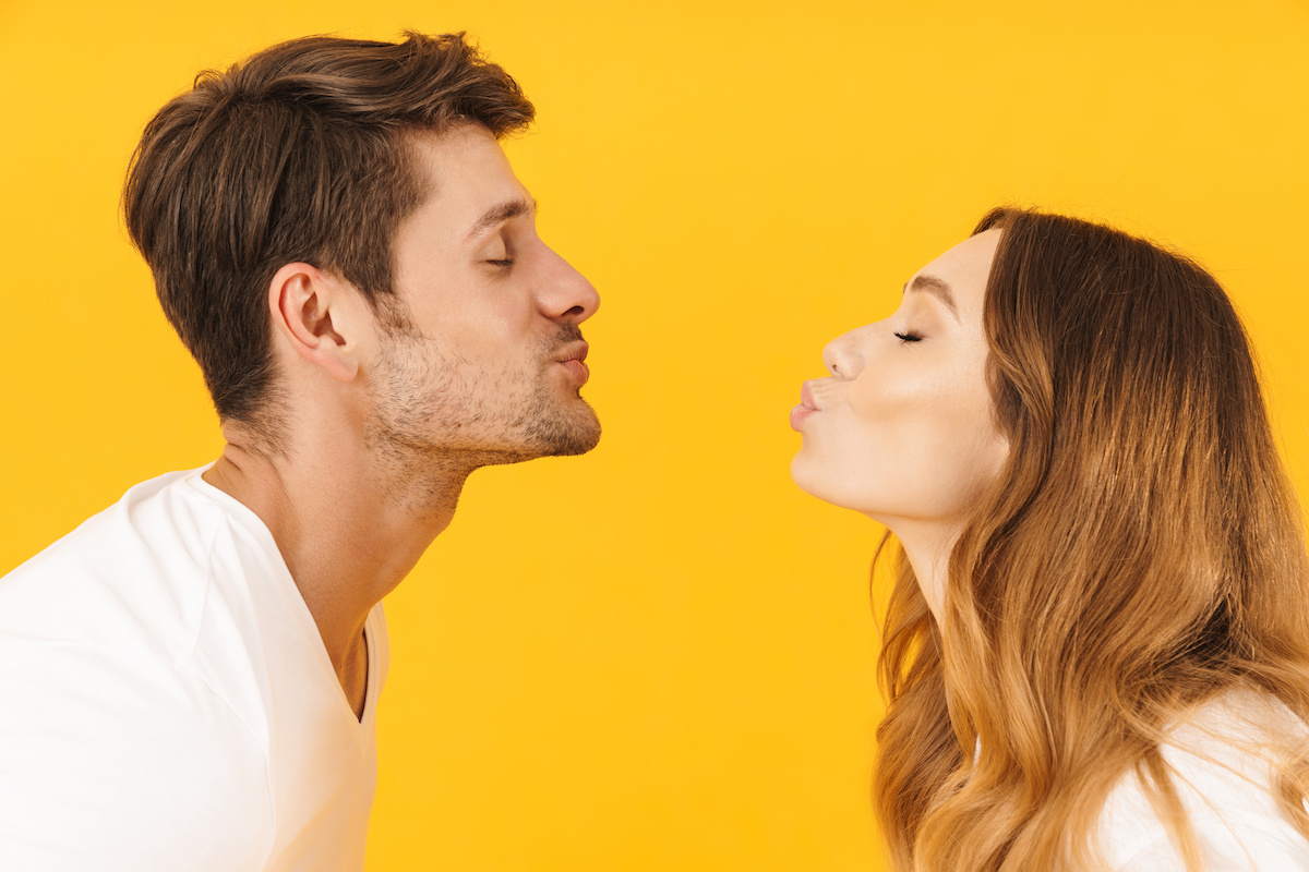 """Can Kissing Damage Your Teeth? Find Out – And Practice """"Safe Smooching!"""""""