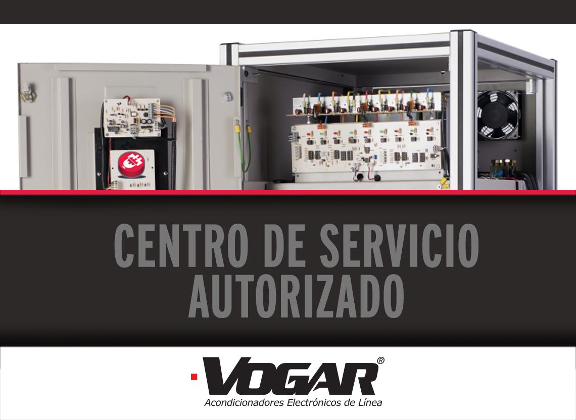 Somos REPRESENTANTES y CENTRO DE SERVICIO Autorizado VOGAR®
