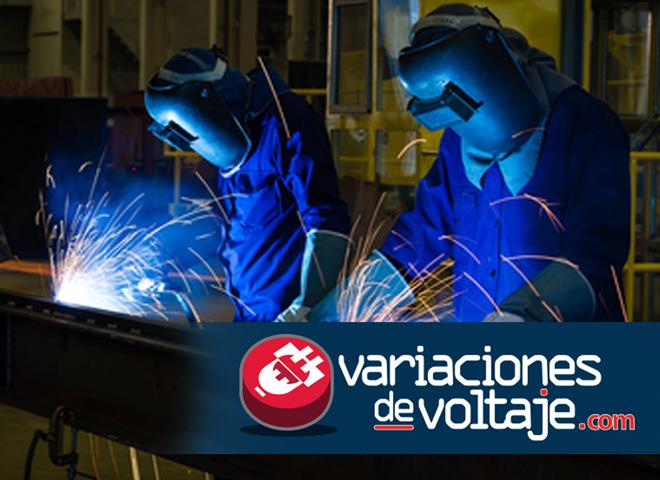 soldadoras eléctricas en obra y construcción