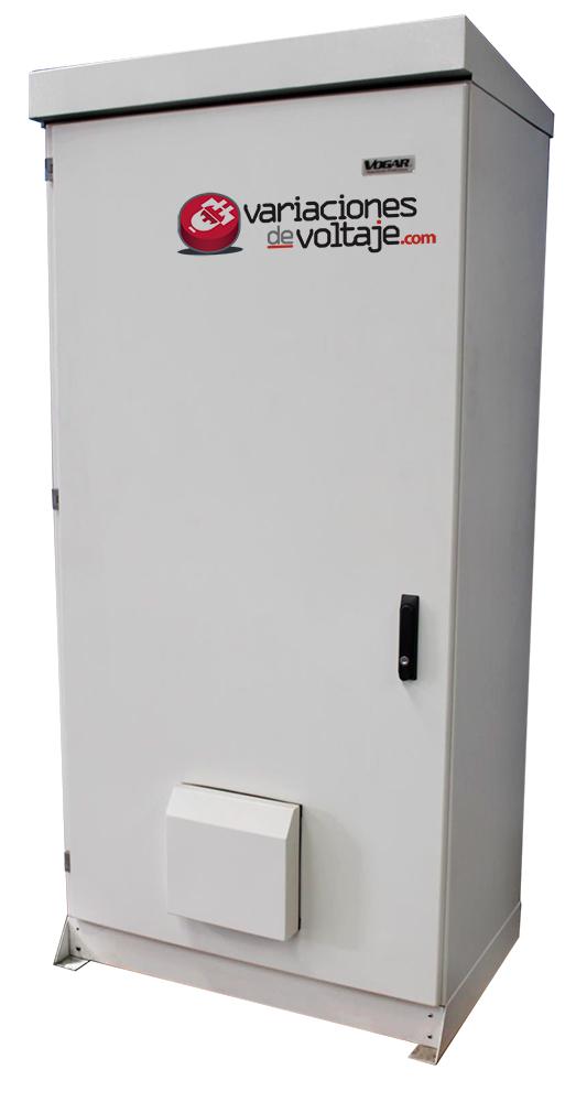 Acondicionador de Voltaje Intemperie TRIFASICO voltajes críticos