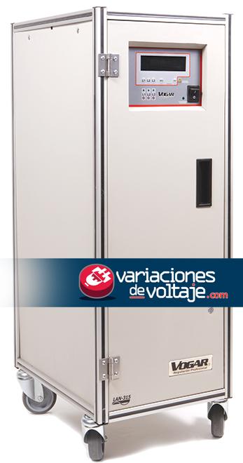 Acondicionador de Voltaje con Panel Digital y Funciones Especiales
